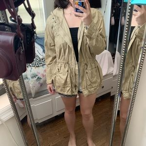 Light Michael Kors Jacket with draw strings